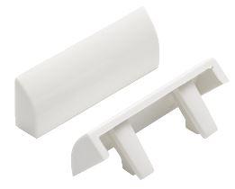 Pare Tempête Modèle Aster Blanc 40x15 Mm Pour Fenêtre Pvc
