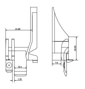 paire de tulipes oxxo eclipse c2m avignon. Black Bedroom Furniture Sets. Home Design Ideas