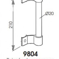 poign e de tirage alu c2m avignon. Black Bedroom Furniture Sets. Home Design Ideas