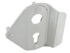 Poign e de serrure bouton poussoir c2m avignon - Poignee serrure porte de garage ...