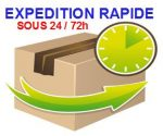 expedition rapide 24-72h