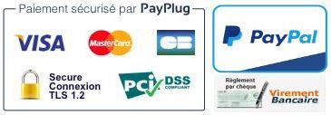 Modes de paiements :