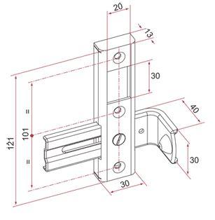 g che r versible avec but e pour portillon battant c2m avignon. Black Bedroom Furniture Sets. Home Design Ideas
