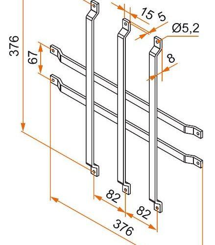 grille anti effraction noire pour hublot rond c2m avignon. Black Bedroom Furniture Sets. Home Design Ideas