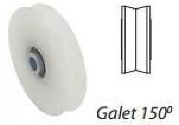 Galet polyamide 150°
