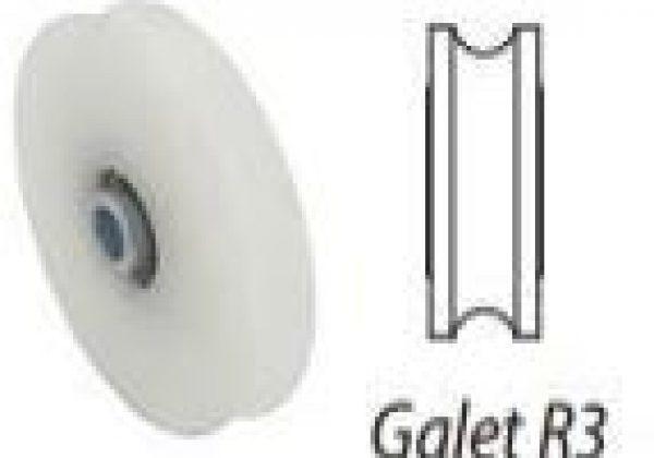 Galet polyamide R3