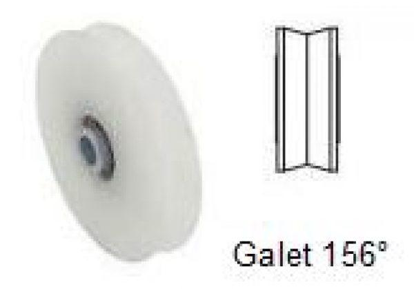 Galet polyamide 156°