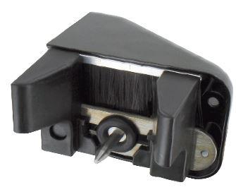 Gâche Alu Pour Portail Coulissant Motorisé épaisseur 30 à 65mm Noir