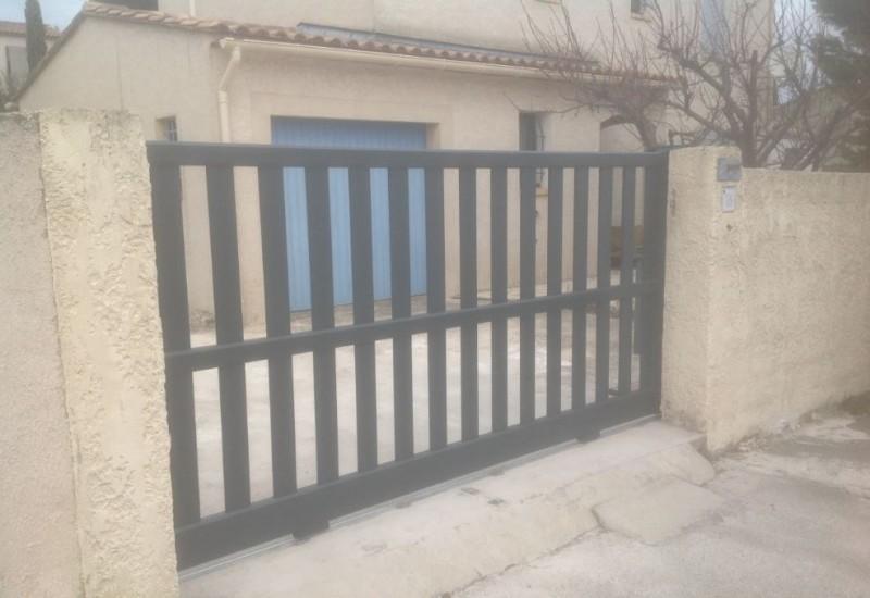 portail pvc gris portail battant aluminium penmarch gris anthracite portail cholet angers en. Black Bedroom Furniture Sets. Home Design Ideas